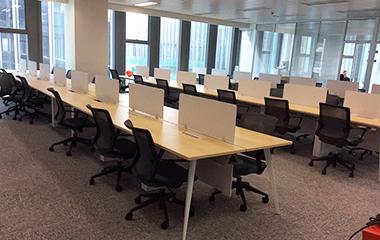 建均办公室家具案例