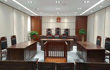 闵行区司法局矫正中心法院家具案例