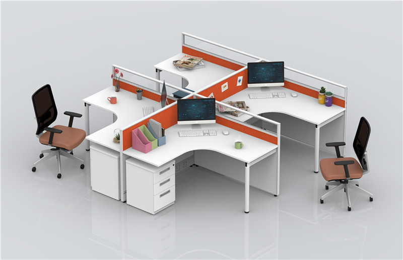 屏风办公桌和这类办公空间更相配!