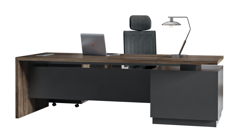 总经理办公室如何配置办公大班台