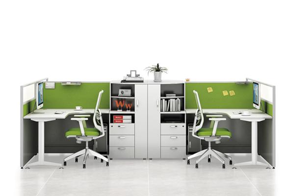 T40款屏风办公桌